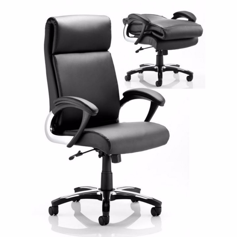Executive ergonomic swivel luxury leather office chair with folding back.jpg